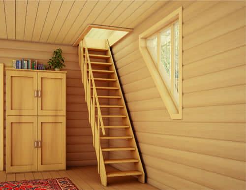 Лестница на второй этаж в частном доме фото своими руками
