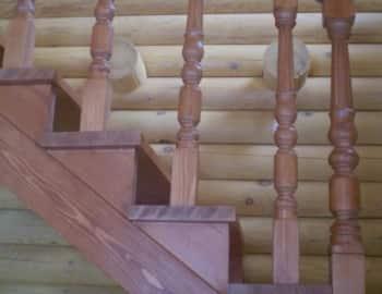 Балясины на лестнице