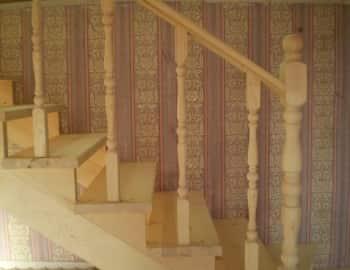 Устройство лестниц из балясин