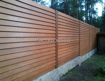 Забор и планкена