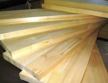 ступени цельноламельные деревянные