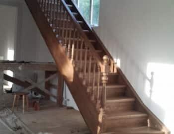 лестница с тетивой