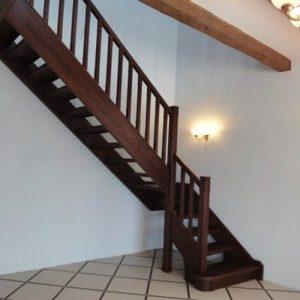 Лестница деревянная «Тайга 18»