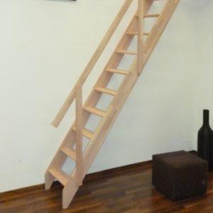 Лестница деревянная «Тайга 7»