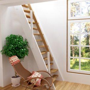Лестница деревянная «Тайга 5»