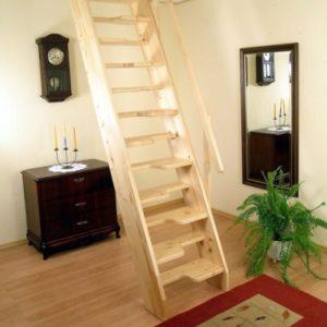 Лестница деревянная «Тайга 3»