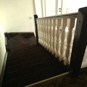 Лестница деревянная «Тайга 22»