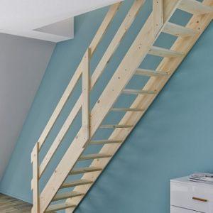 Лестница деревянная «Тайга 4»