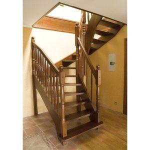 Лестница деревянная «Тайга 29»