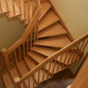 Лестница деревянная «Тайга 30»